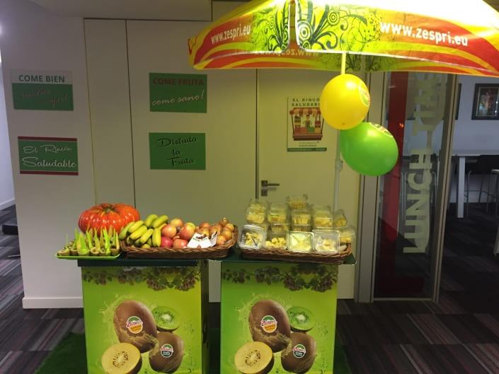 Fruta saludable para oficinas