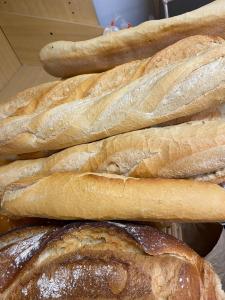 Pan fresco recién hecho