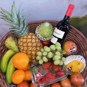 Cesta de fruta a domicilio en Zaragoza