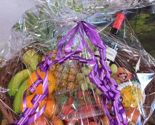 Cesta de fruta a domicilio Frutas Selectas Antonio gracia